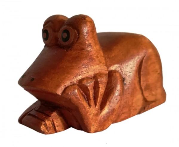 liegender Frosch