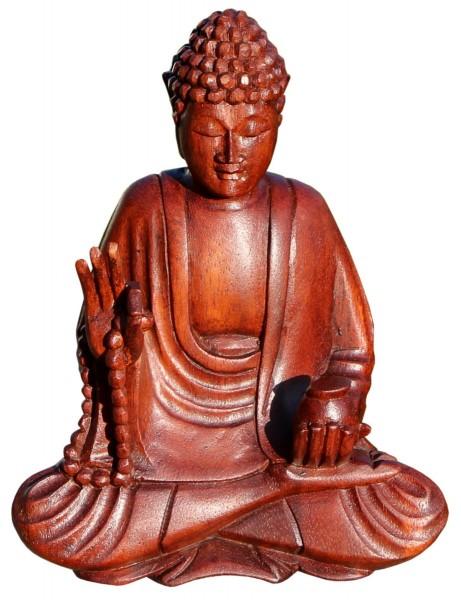 Buddha Meditation Hand vorn Kette 20 cm