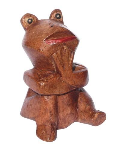 kleiner lustiger Frosch