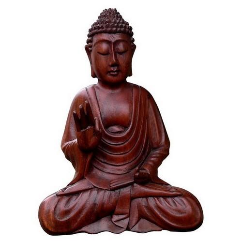 Buddha Meditation Hand vorn 20 cm