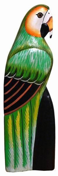 Papagei01 Papagei grün klein