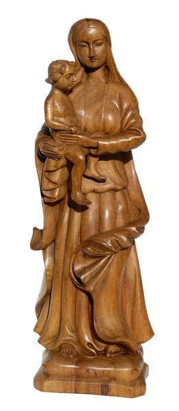Maria mit Jesus hell
