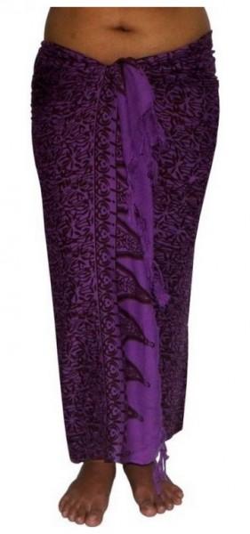 """Sarong """"violett / lila"""""""