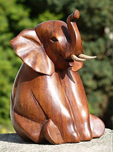 Elefant10 sitzender Elefant mittel