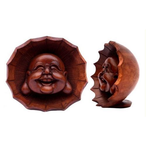 Lachender Buddhakopf 13 cm