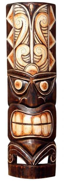Maske86 50cm Tiki Maske Neuseeland