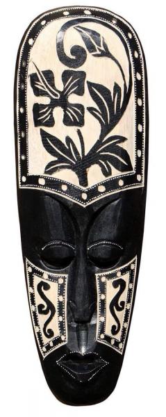 Maske79 50cm Hibiskus Tribal Maske