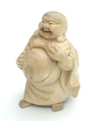 Bmini03 Happy Buddha stehend