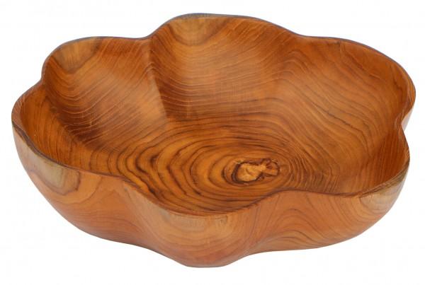 30cm Holz-Schale Teakholz