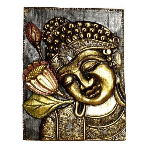 HBild01li Bild Buddha mit Blume links