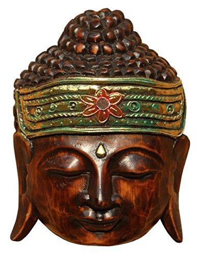 Maske57 20cm Buddha Kopf Maske