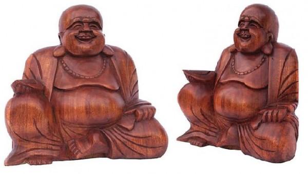 Happy Buddha dunkel 15 cm