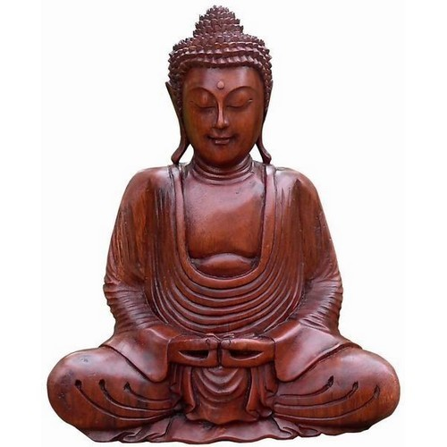 Buddha Meditation Feng Shui Hände unten 40 cm