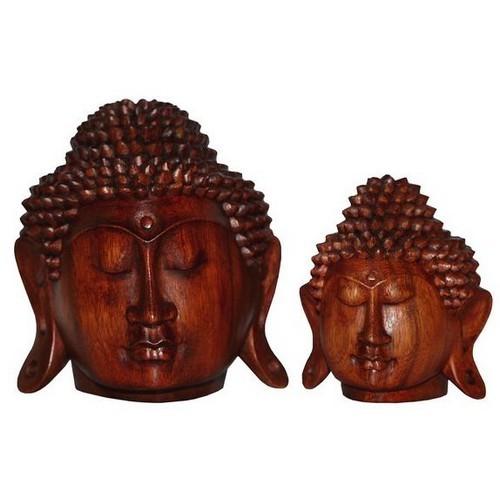 Buddhakopf Meditation 20 cm