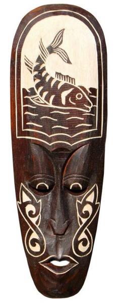 Maske82 50cm Fisch Maske