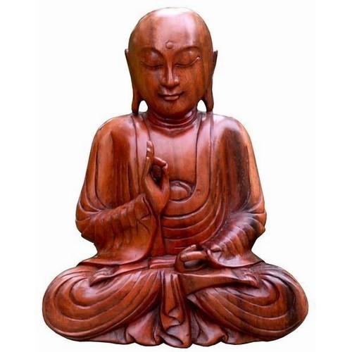 Buddha Meditation Feng Shui Mönch Glatze 30 cm