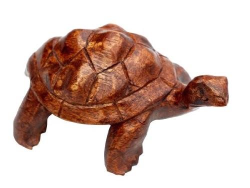 Turtle02.20 20cm Holz Schildkröte