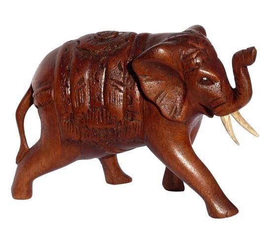 Elefant26 indisch mit Decke