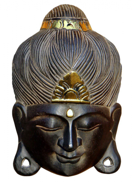 Maske14 Buddha-Kopf