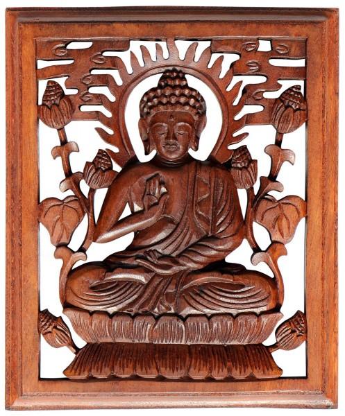 Rel35 Buddha Meditation in Rahmen