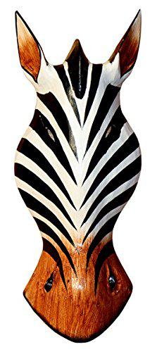 Maske49 30cm Zebra Maske