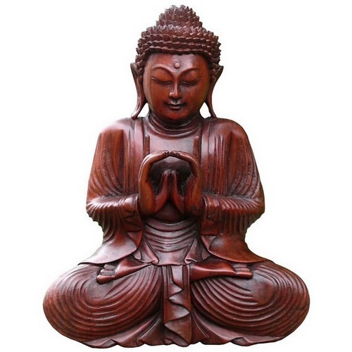 Buddha Meditation Feng Shui Doppelhand 40 cm