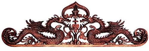 80 cm Drachen Relief