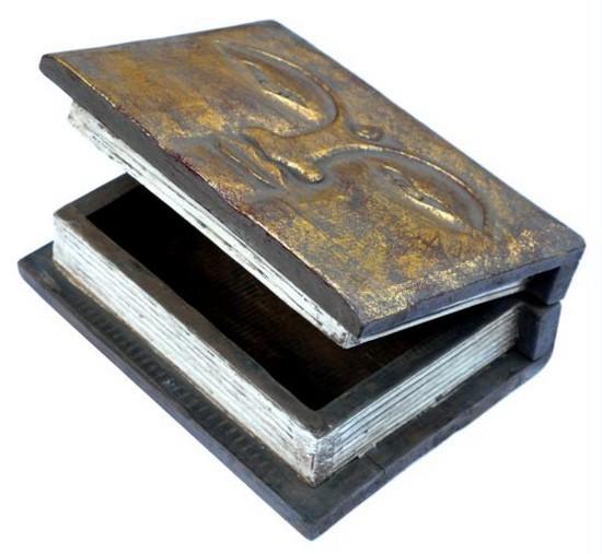 Schatulle15 Buddha Buchschatulle